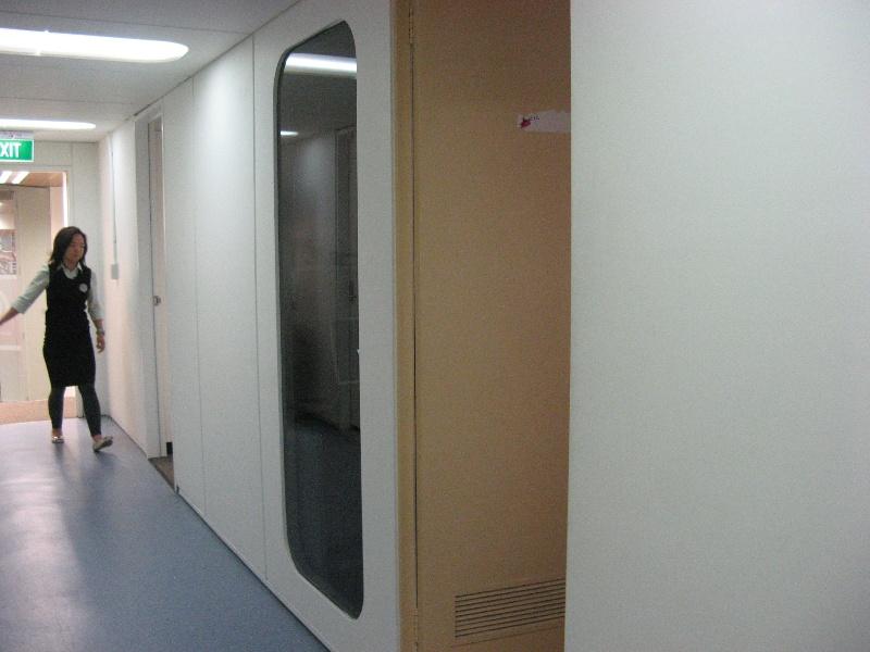 Plumbers & gasfitters ground floor corridor