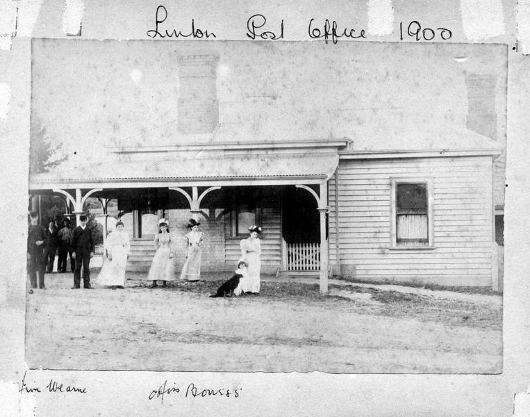 Linton Post Office, c.1900. Source: Linton Historical Society./