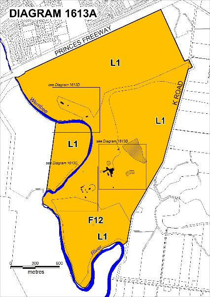 Werribee Park Plan A - Extent of Registration 2012