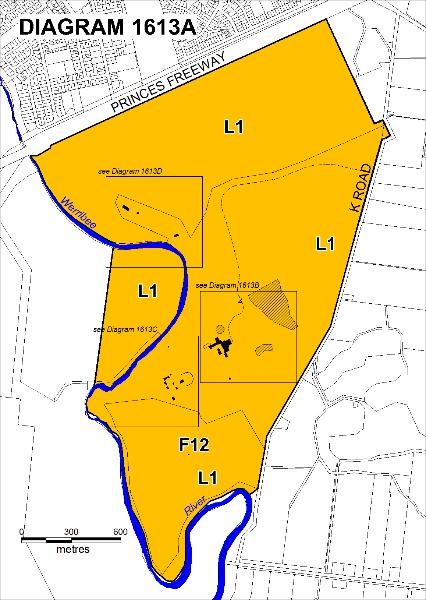 Werribee Park Plan A - Extent of Registration 2012