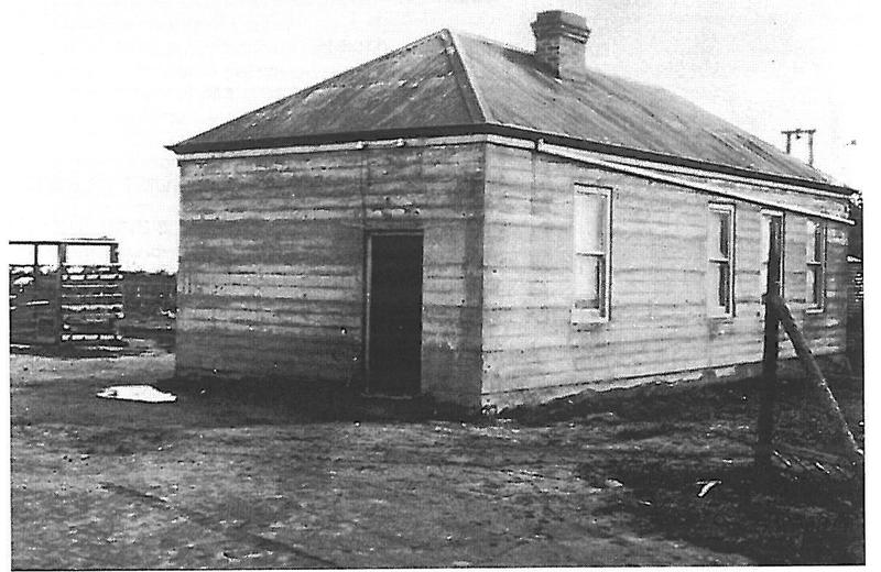 CSIRO Horticulture Research Station 1919 laboratory