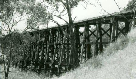 B3287 Railway Bridge Pyalong