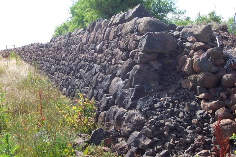 Rockbank Headstation Dam Wall