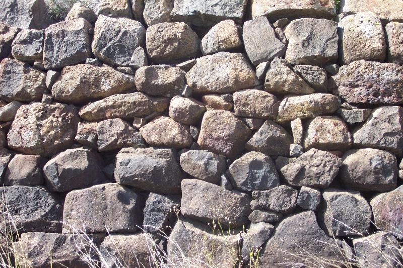 Rockbank Headstation Dam Wall - detail