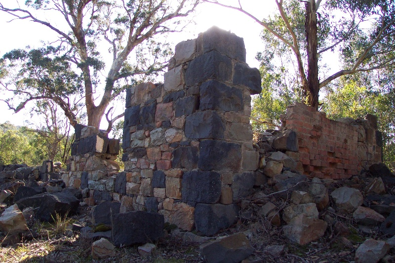 Ruin, thought to be the Greenhills Station Shearers' Quarters