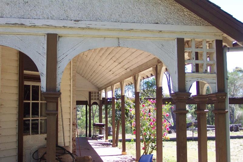 Cornwall Park Stud - verandah detail