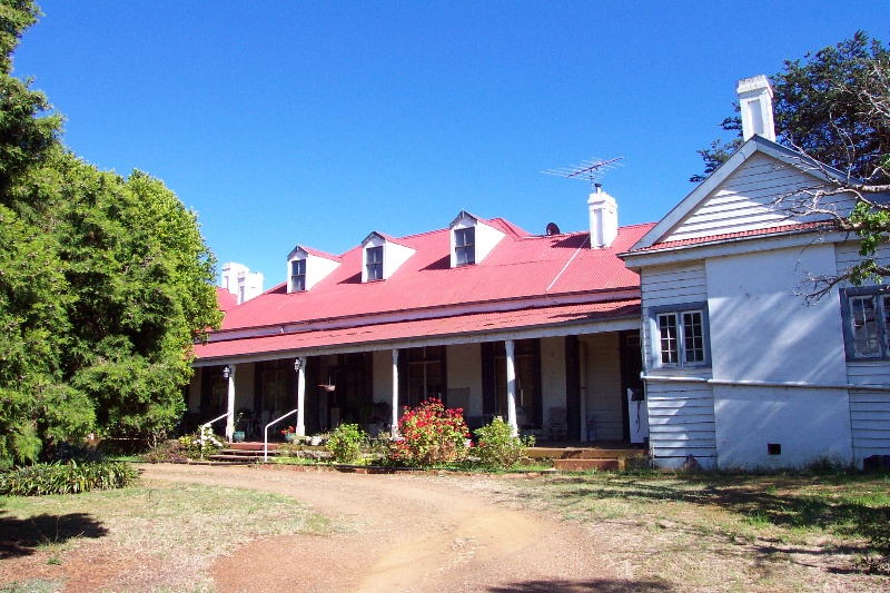 Exford Homestead - front elevation