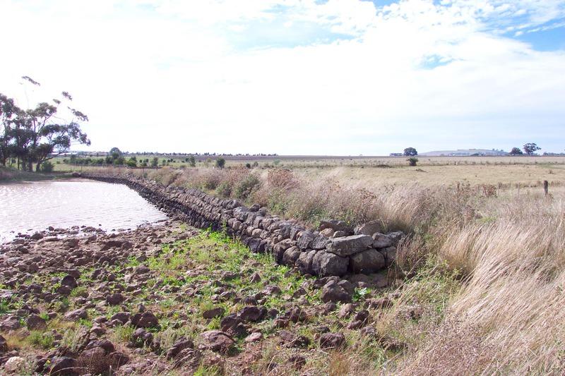 Former Clarke Dam