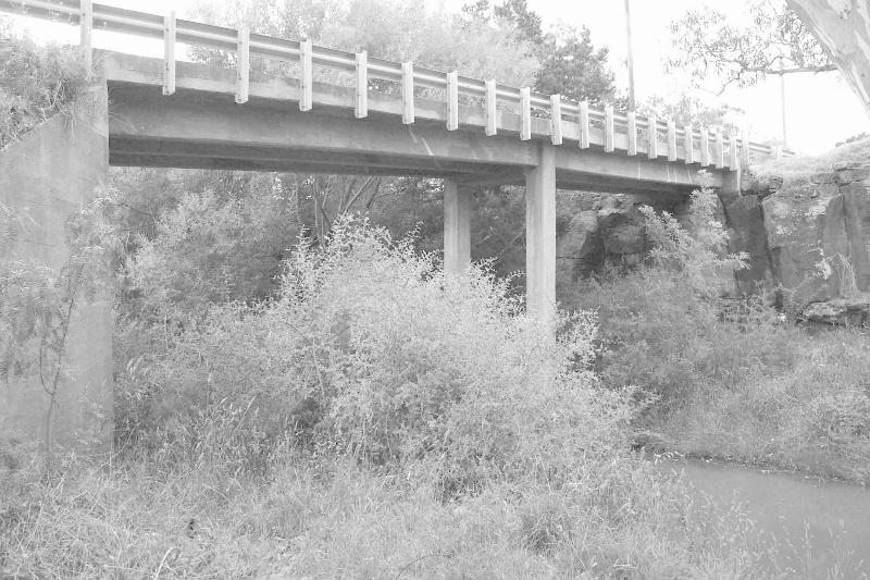 Bridge Road bridge over the Toolern Creek