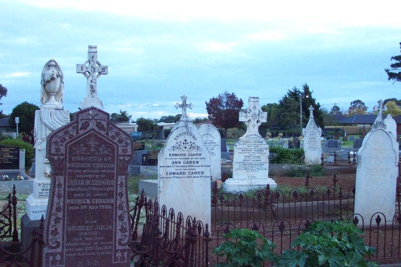 Elaborate tombstones