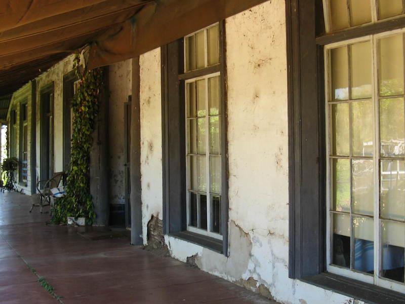 Exford verandah