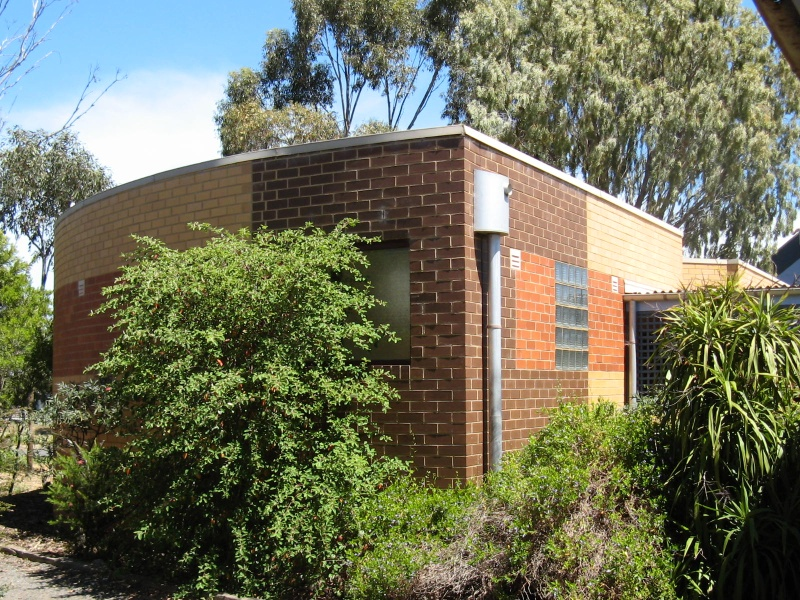 Former Mowbrary College toilet block