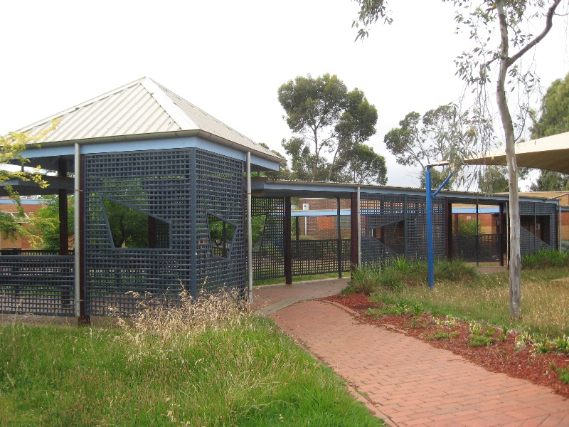 Former Mowbrary College walkways