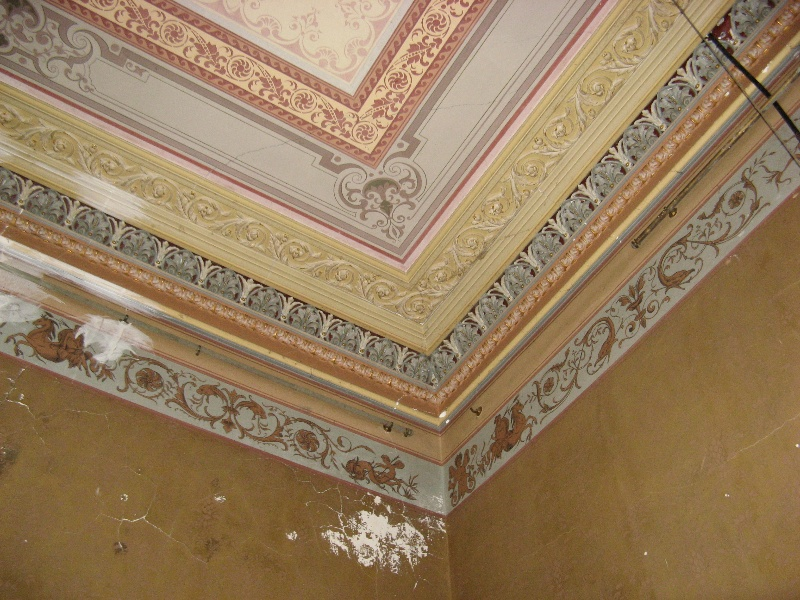 Mintaro dining room ceiling