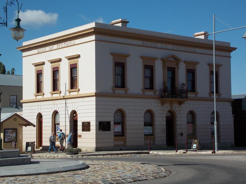 Originally Bank of Victoria