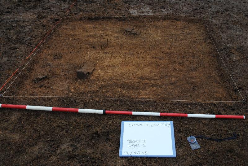 Creswick Cemetery Heritage Victoria Dig 20 May 2013