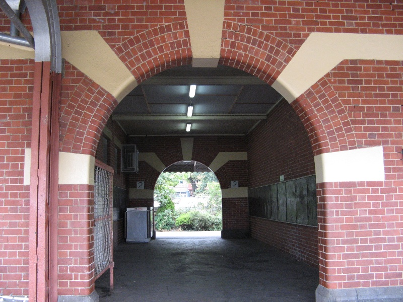 Warragul Railway Station link between 2 platforms