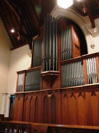 B3661 St Peter's Pipe Organ
