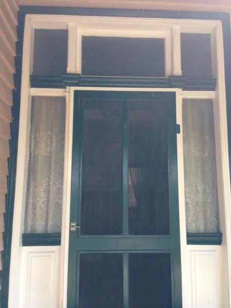 Front entrance door, 14 Bridge St