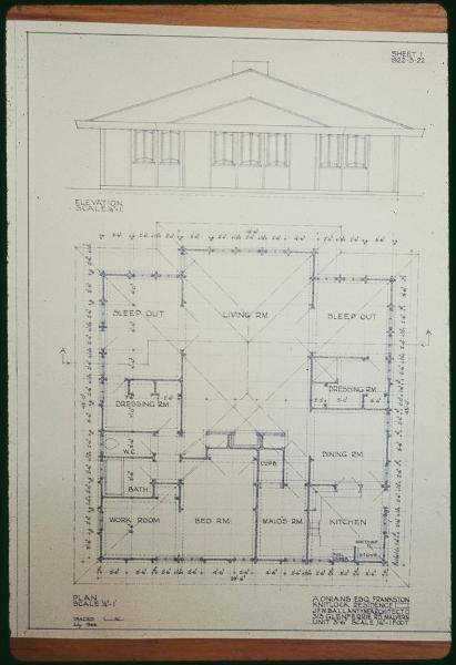 Stokesay floorplan