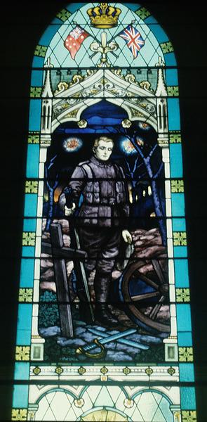 Ballarat Barkly St Uniting Church, detail First World War memorial, Fisher& Co. 1920