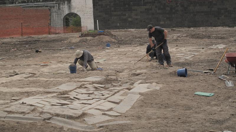Pentridge excavation by Dig Intl