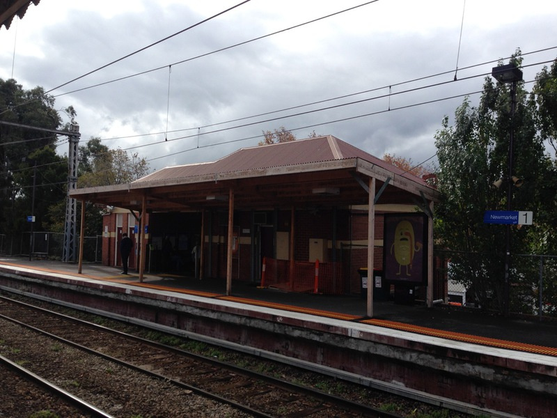 Newmarket Railway Station Up side building