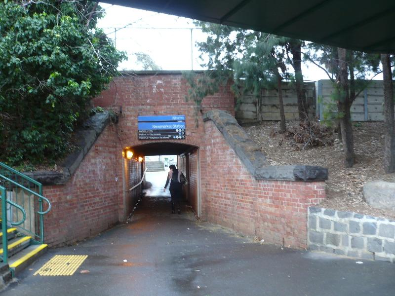 Newmarket Railway Station Pedestrian Subway east side