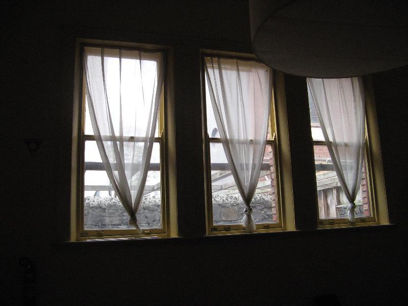 west windows of schoolroom