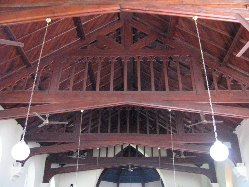 Church ceiling
