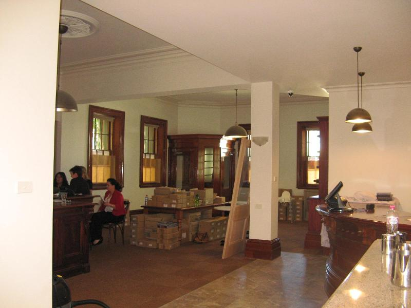 Former Bank of NSW ground floor interior