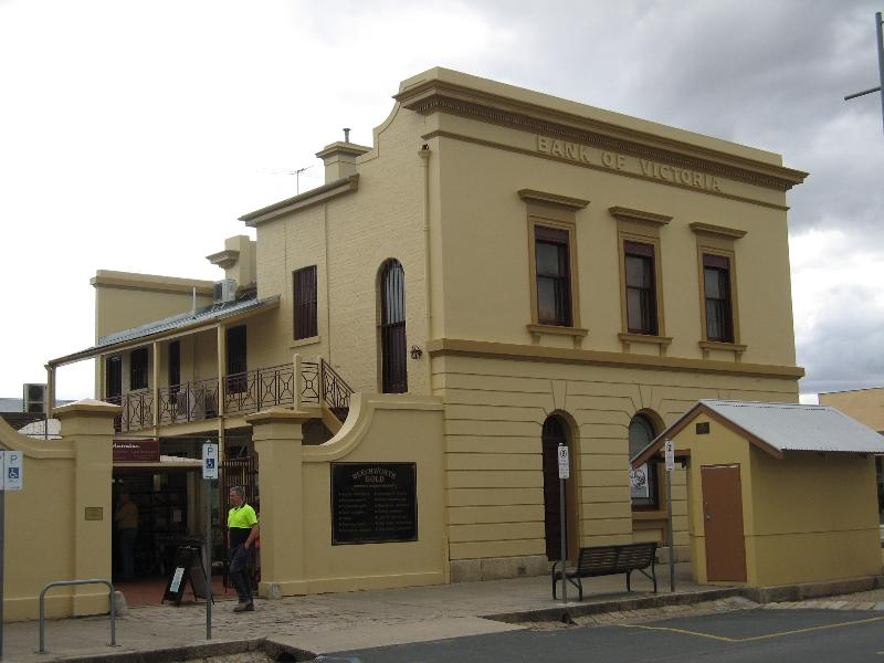 Former Bank of Victoria rear