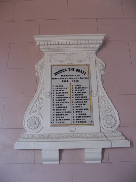 Church Honour Board
