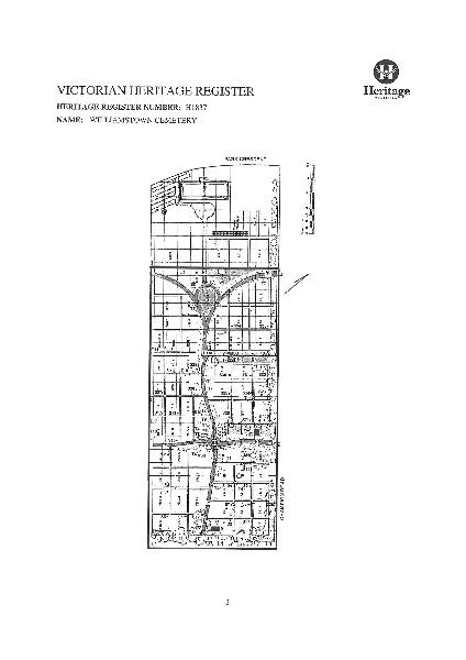 Williamstown cemetery plan
