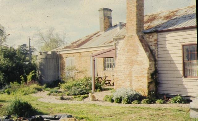 the towers victoria parade kilmore rear view cottage
