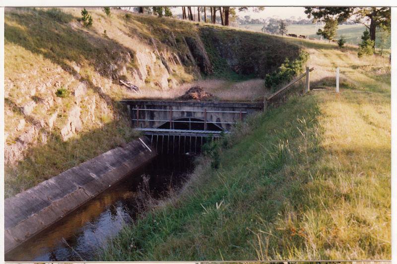 2 - Maroondah Aqueduct Kangaroo Ground Eltham - Shire of Eltham Heritage Study 1992 - Colour 4