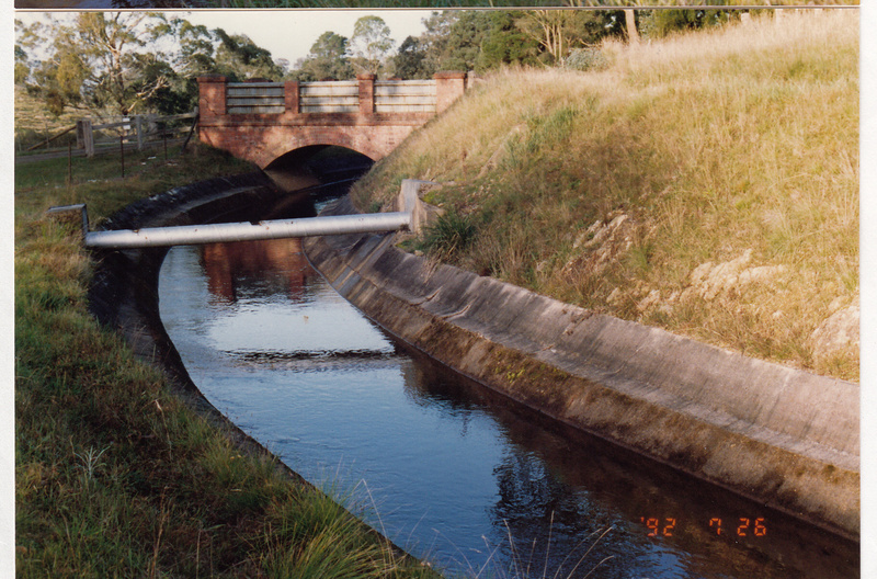 2 - Maroondah Aqueduct Kangaroo Ground Eltham - Shire of Eltham Heritage Study 1992 - Colour 5