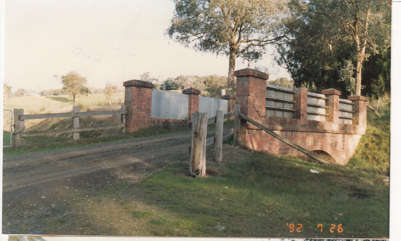 2 - Maroondah Aqueduct Kangaroo Ground Eltham - Shire of Eltham Heritage Study 1992 - Colour 7