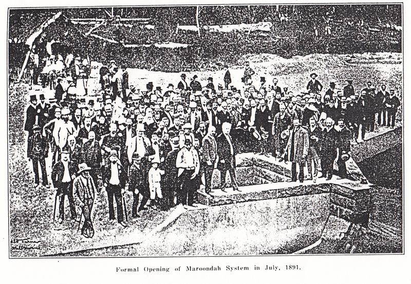 2 - Maroondah Aqueduct Kangaroo Ground Eltham - Shire of Eltham Heritage Study 1992 - Pipe Opening