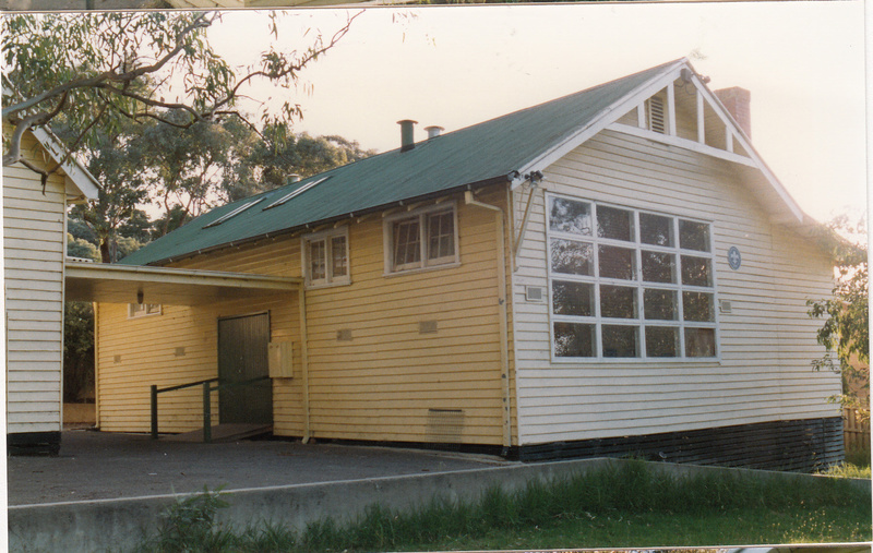 Scouts Building Former State School 3939 Colour 1 - Shire of Eltham Heritage Study 1992