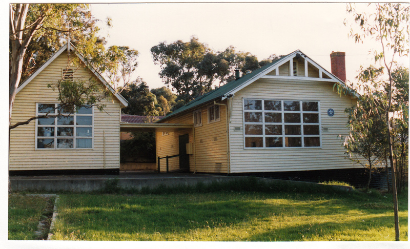 Scouts Building Former State School 3939 Colour 2 - Shire of Eltham Heritage Study 1992