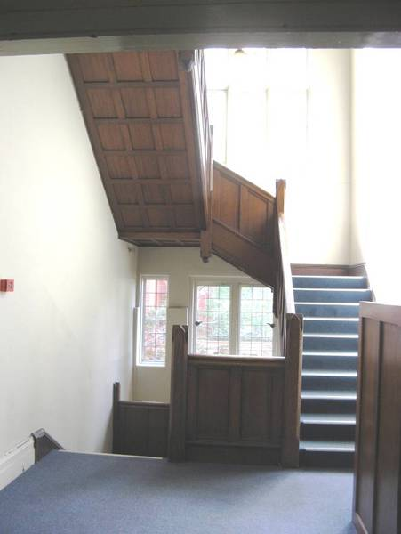 JCH Staircase in 1930 Traill Wing