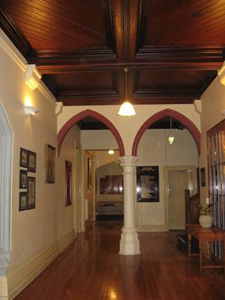 Entrance Hall in Main Wing