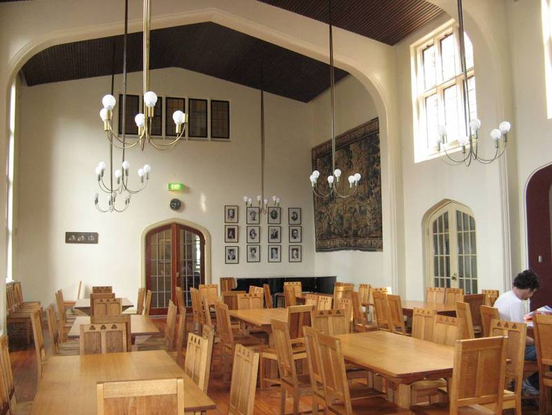 Dining Hall in Manifold Wing with original furniture