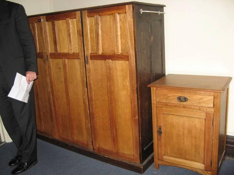 original furniture in Traill Wing