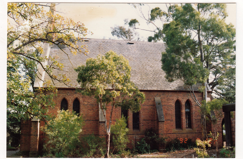 St Margarets Anglican Church Eltham Colour 2 - Shire of Eltham Heritage Study 1992