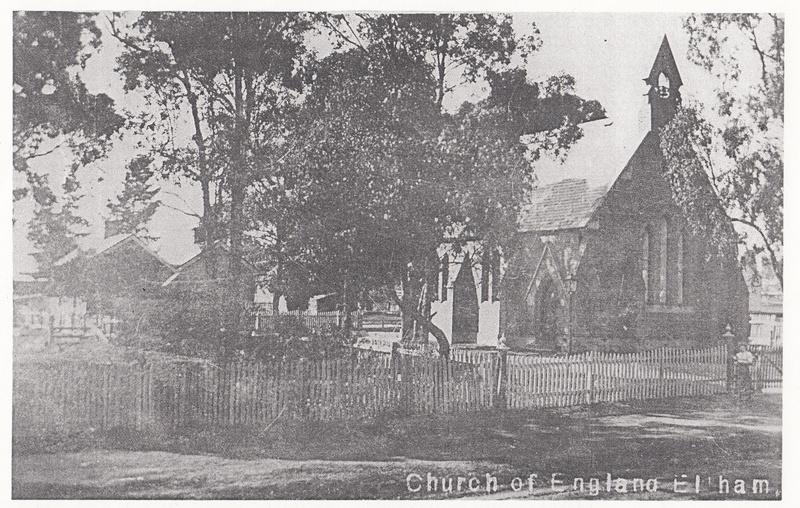 St Margarets Anglican Church Eltham Black & White 1 - Shire of Eltham Heritage Study 1992