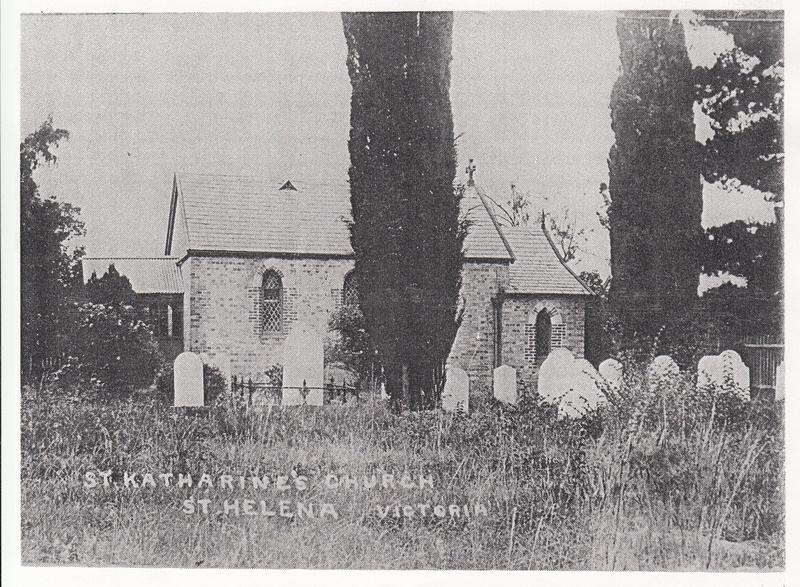 St Margarets Anglican Church Eltham Black & White 3 - Shire of Eltham Heritage Study 1992