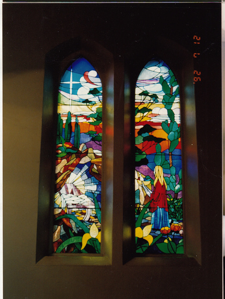 St Margarets Anglican Church Eltham Window 1 - Shire of Eltham Heritage Study 1992