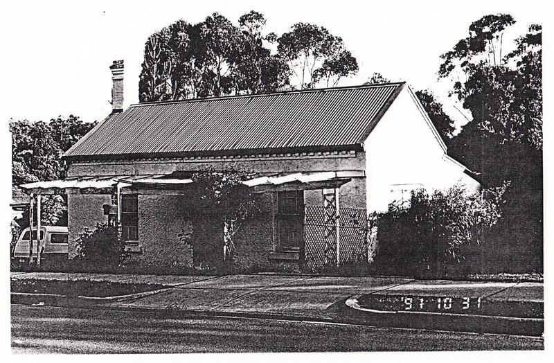 Brick House 88 Pitt St Eltham 1 - Shire of Eltham Heritage Study 1992
